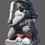 Kerajinan seni pahat muntilan patung gupala