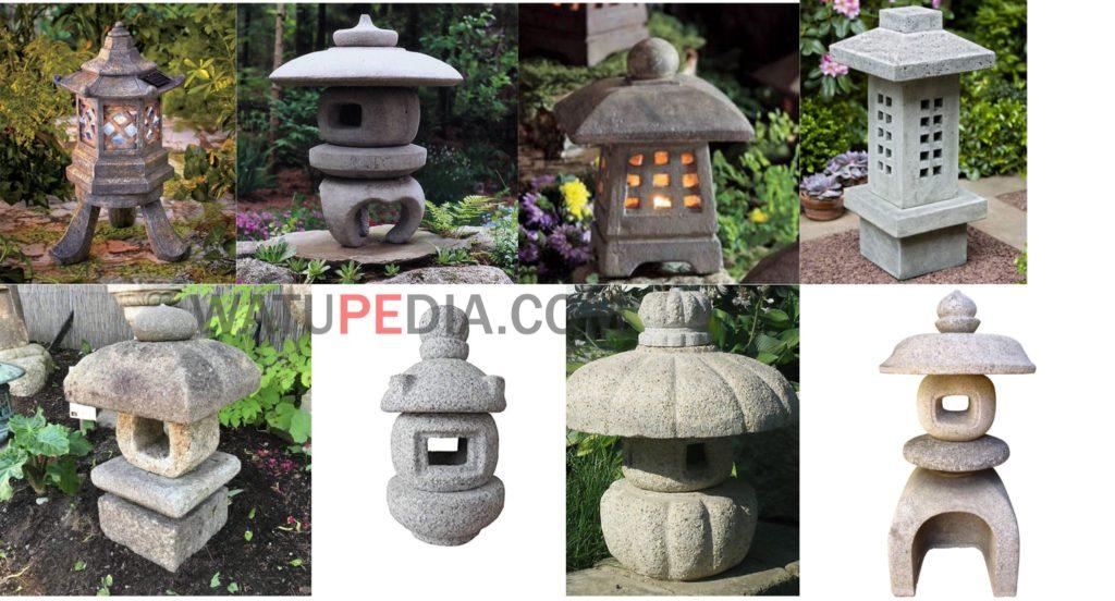 Lampu Taman Lampion Batu Candi Muntilan Watupedia Stone Art