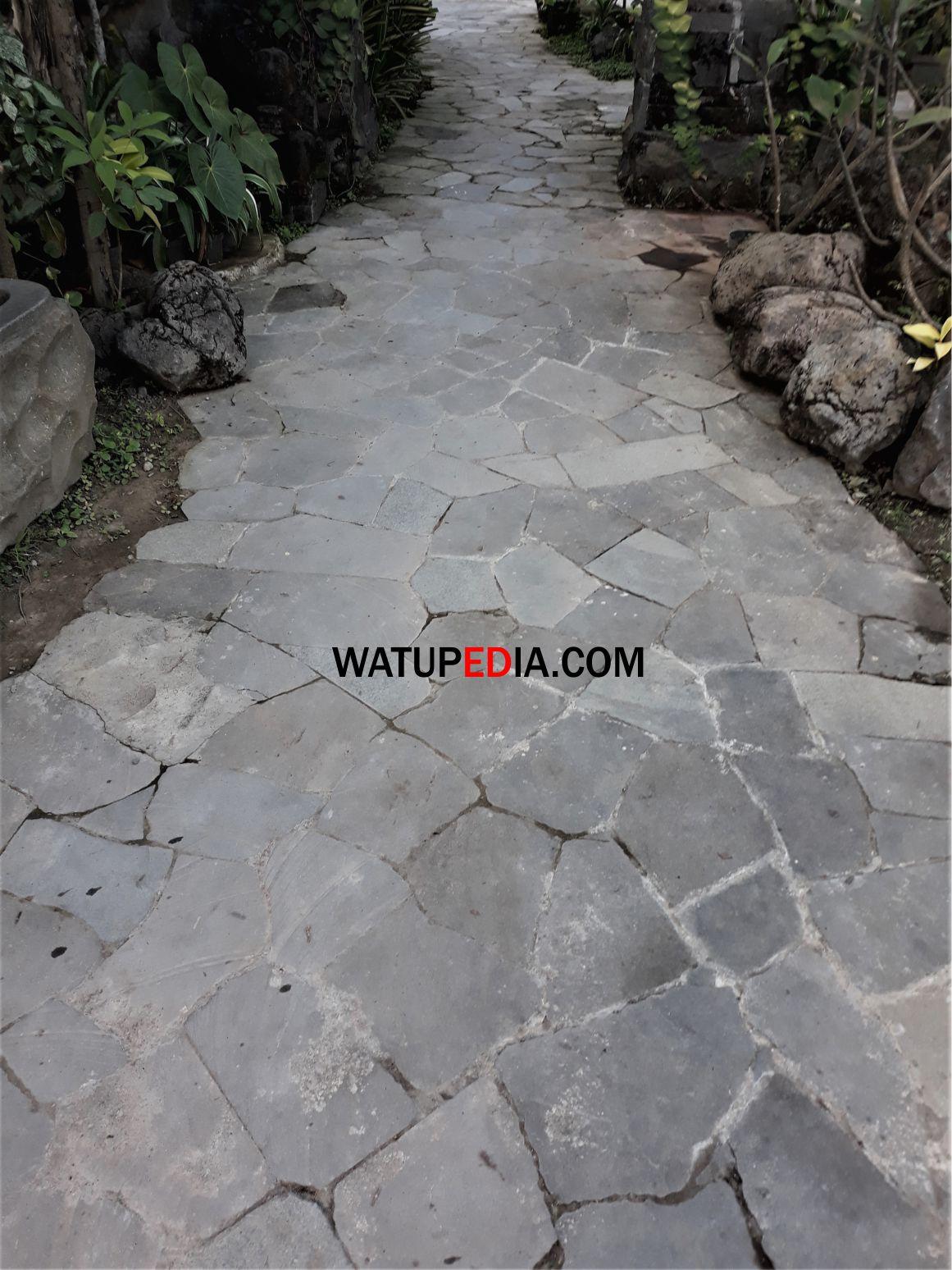 Batu Candi Kulit Untuk Lantai Parkiran Watupedia Stone Art