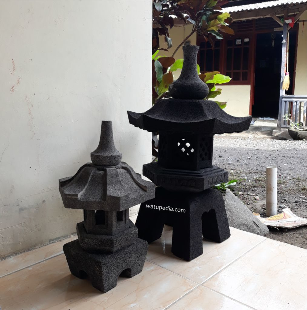 Lampu Taman Batu Archives Watupedia Stone Art