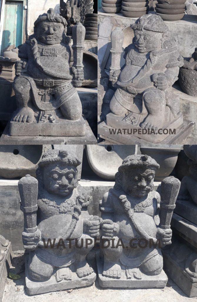 muntilan terkenal akan Seni Pahat batu Patung gupolo nya