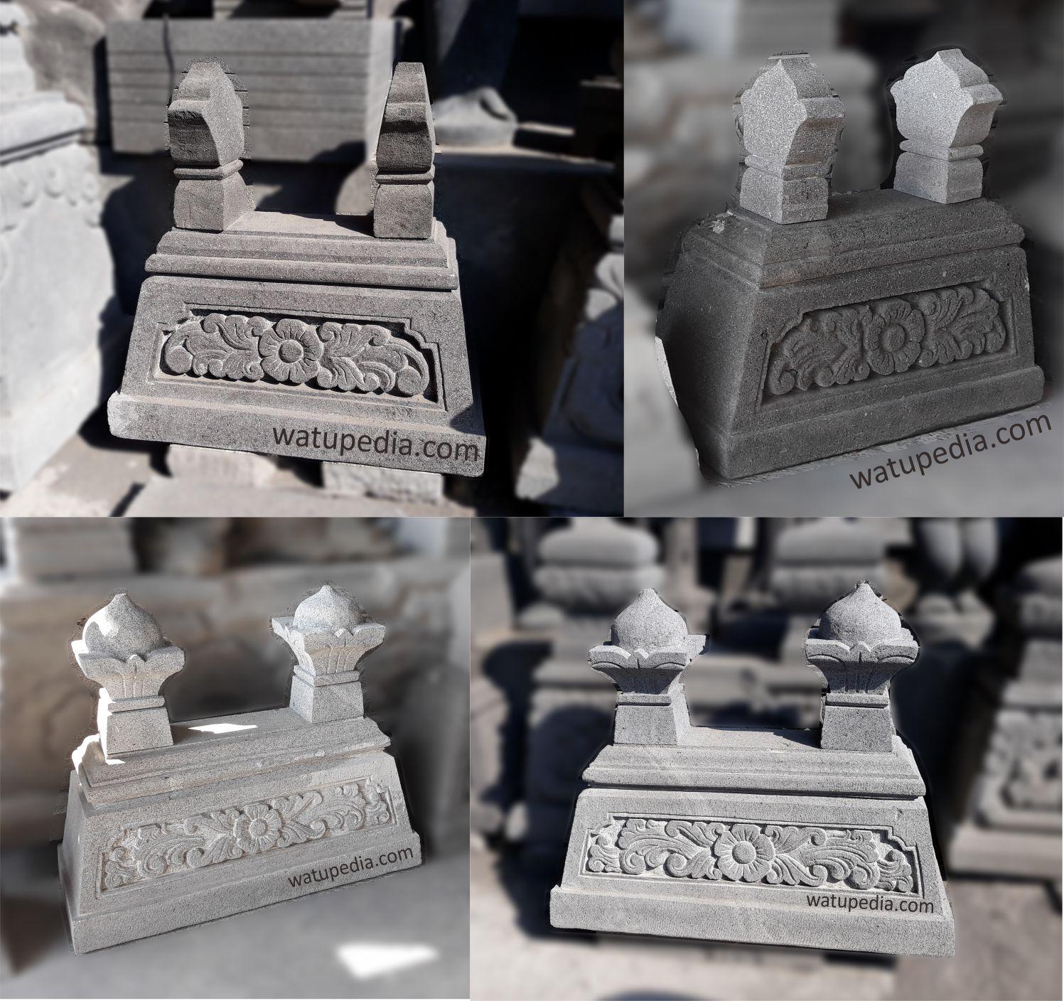Kijing /Pusara/nisan/ makam batu alam